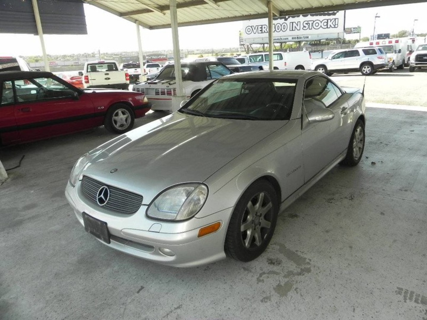 2002 Mercedes Benz Slk230 23l Kompressor City Tx Randy