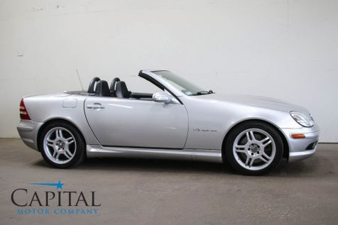 2002 Mercedes-Benz SLK32 AMG Roadster w/Supercharged V6, Heated Seats, Power Hardtop & AMG Rims in Eau Claire