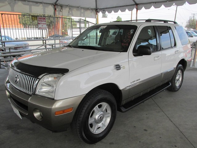 2002 Mercury Mountaineer Please call or e-mail to check availability All of our vehicles are ava