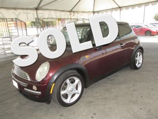 2002 Mini Hardtop Gardena, California