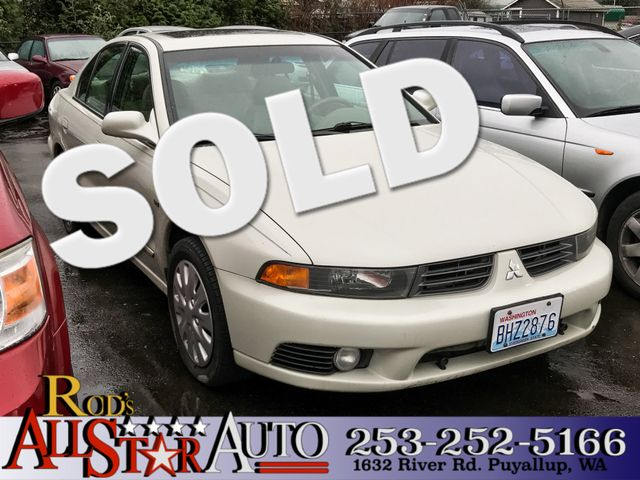 2002 Mitsubishi Galant LS The CARFAX Buy Back Guarantee that comes with this vehicle means that yo