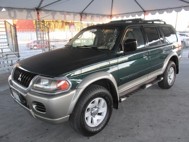 2002 Mitsubishi Montero Sport XLS Please call or e-mail to check availability All of our vehicle