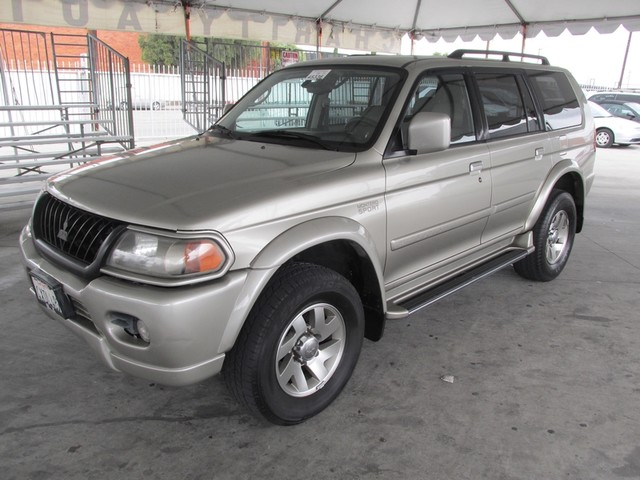 2002 Mitsubishi Montero Sport LTD Please call or e-mail to check availability All of our vehicl