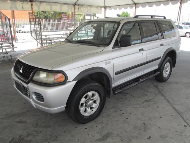 2002 Mitsubishi Montero Sport ES Please call or e-mail to check availability All of our vehicle