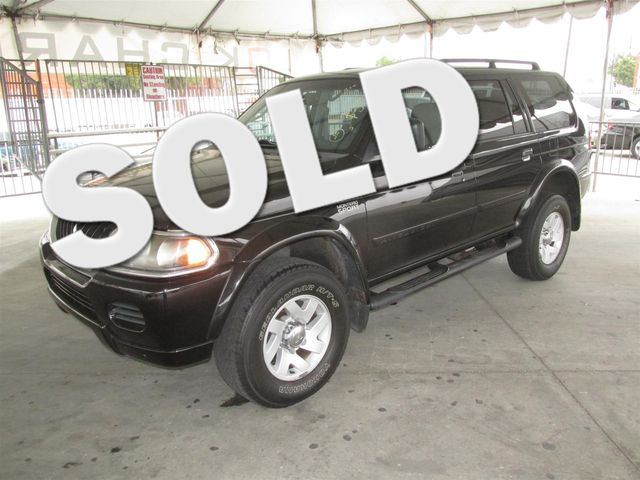 2002 Mitsubishi Montero Sport XLS Please call or e-mail to check availability All of our vehicl