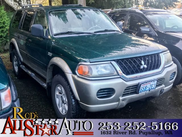 2002 Mitsubishi Montero Sport XLS 4WD This vehicle is a CarFax certified one-owner used car Pre-o