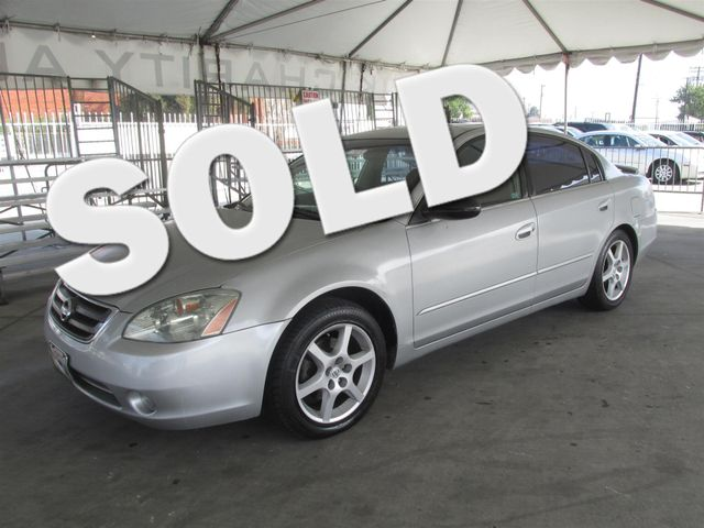 2002 Nissan Altima SE Please call or e-mail to check availability All of our vehicles are avail