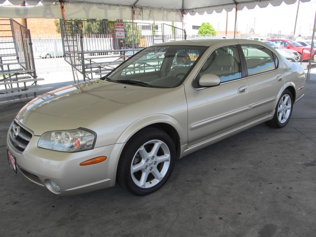 2002 Nissan Maxima SE Please call or e-mail to check availability All of our vehicles are availa