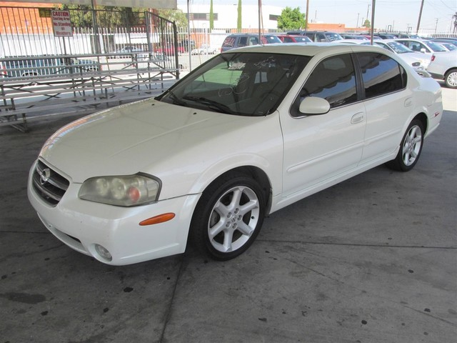 2002 Nissan Maxima SE This particular vehicle has a SALVAGE title Please call or email to check a