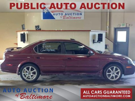 2002 Nissan Maxima SE   JOPPA, MD   Auto Auction of Baltimore  in JOPPA, MD