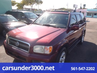2002 Nissan Pathfinder LE Lake Worth , Florida 2
