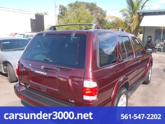 2002 Nissan Pathfinder LE Lake Worth , Florida 4
