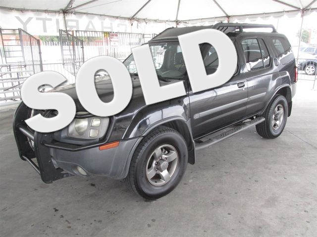 2002 Nissan Xterra SE Please call or e-mail to check availability All of our vehicles are avail