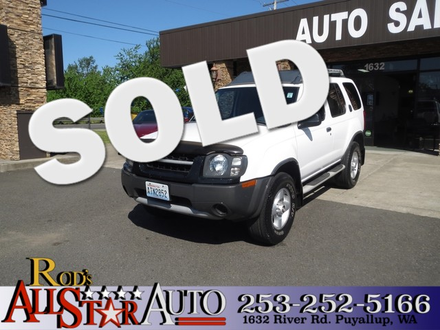 2002 Nissan Xterra XE 4WD The CARFAX Buy Back Guarantee that comes with this vehicle means that yo