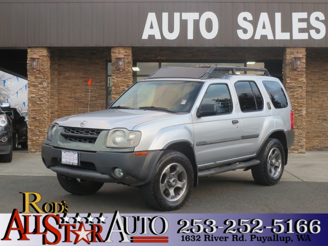 2002 Nissan Xterra SE SC 4WD Supercharged Super 4WD Super Silver although it has the slightest