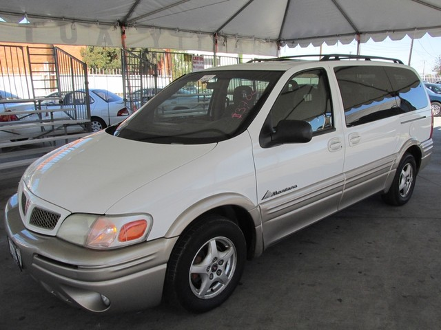 2002 Pontiac Montana w1SA Pkg Please call or e-mail to check availability All of our vehicles a