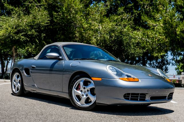 2002 Porsche Boxster S - 6SPD MANUAL - 97K MILES - HTD STS Reseda, CA 7