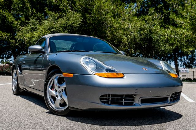2002 Porsche Boxster S - 6SPD MANUAL - 97K MILES - HTD STS Reseda, CA 47