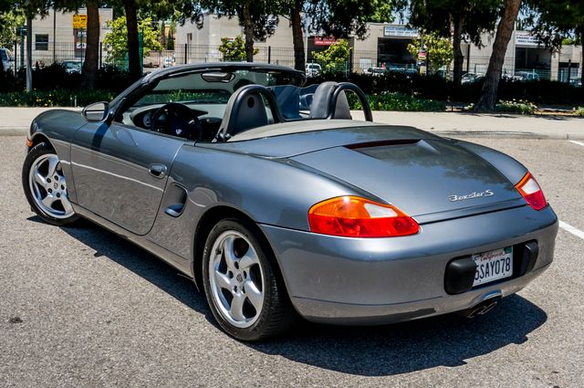2002 Porsche Boxster S - 6SPD MANUAL - 97K MILES - HTD STS Reseda, CA 43