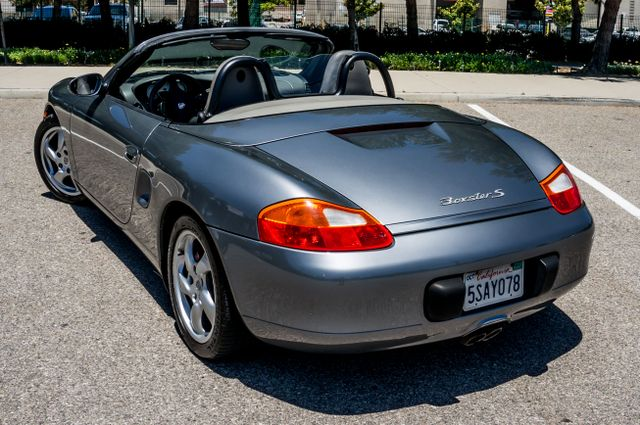 2002 Porsche Boxster S - 6SPD MANUAL - 97K MILES - HTD STS Reseda, CA 44