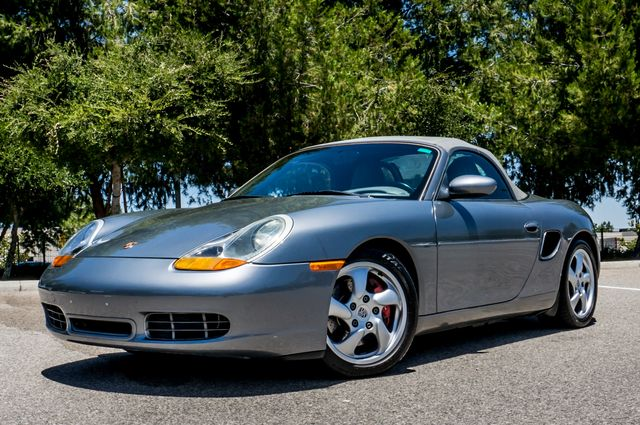 2002 Porsche Boxster S - 6SPD MANUAL - 97K MILES - HTD STS Reseda, CA 3
