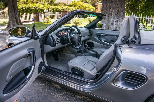 2002 Porsche Boxster S - 6SPD MANUAL - 97K MILES - HTD STS Reseda, CA 18