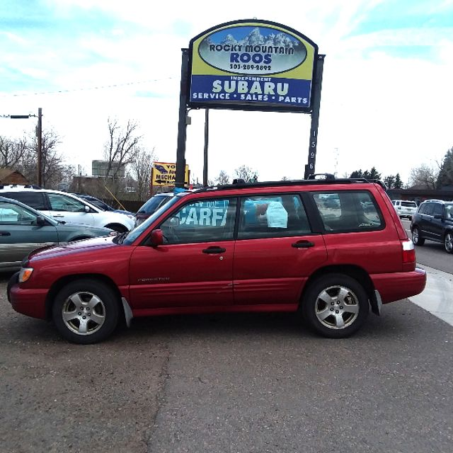 2002 Subaru Forester S w/Premium Pkg! REBUILT ENGINE!!! Golden, Colorado 3