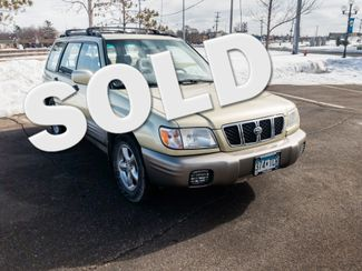 2002 Subaru Forester S with a 6 month 6000 miles warranty Maple Grove, Minnesota