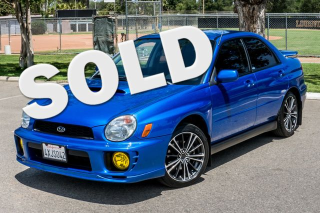 2002 Subaru Impreza WRX Reseda, CA 0