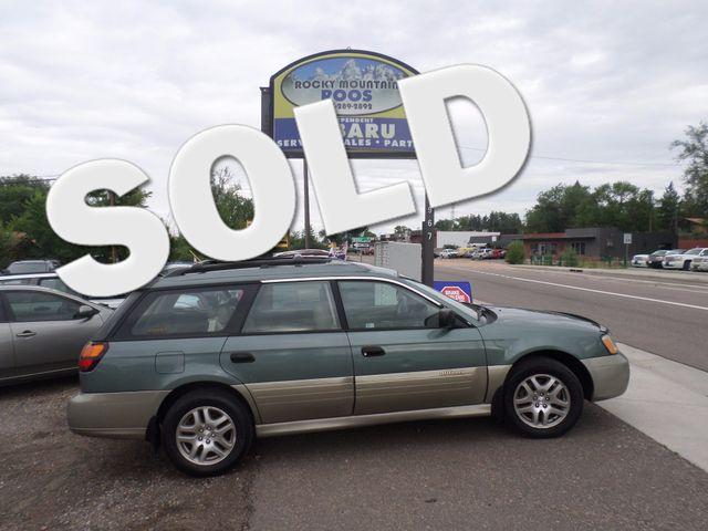 2002 Subaru Outback Golden, Colorado 0