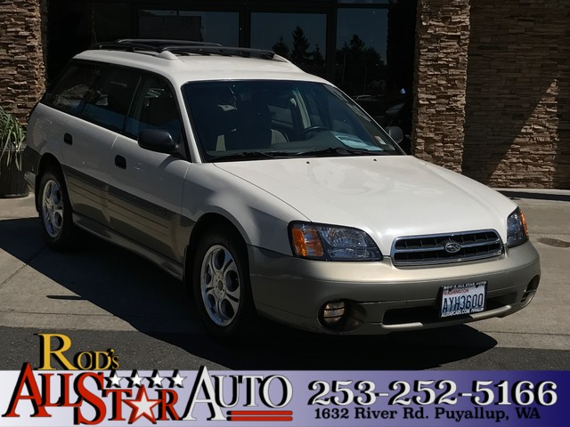2002 Subaru Outback AWD The CARFAX Buy Back Guarantee that comes with this vehicle means that you