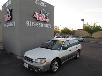 2002 Subaru Outback AWD Sacramento, CA 1