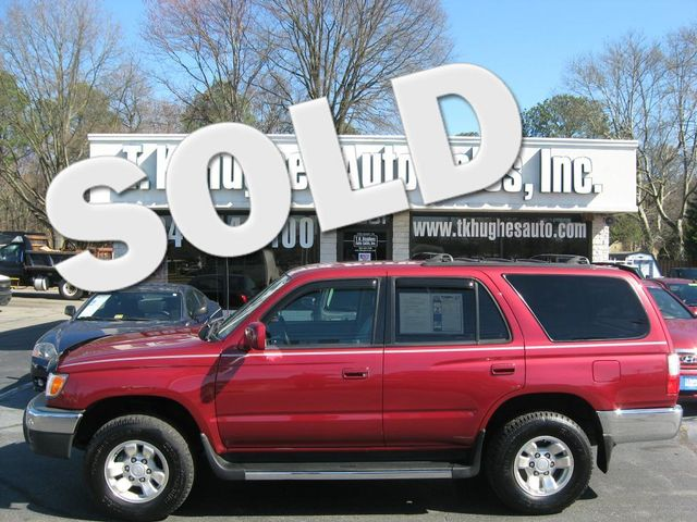 2002 Toyota 4Runner SR5 Richmond, Virginia 0