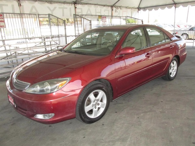 2002 Toyota Camry SE Please call or e-mail to check availability All of our vehicles are availa