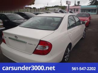 2002 Toyota Camry LE Lake Worth , Florida 2