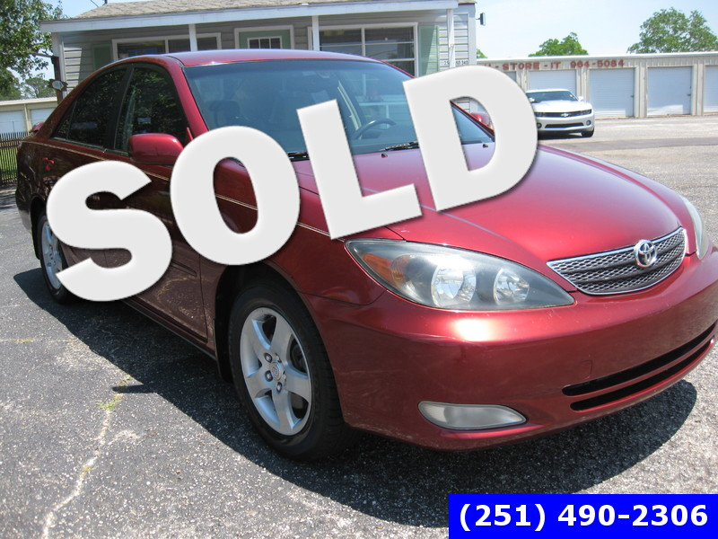 2002 Toyota Camry SE in LOXLEY AL