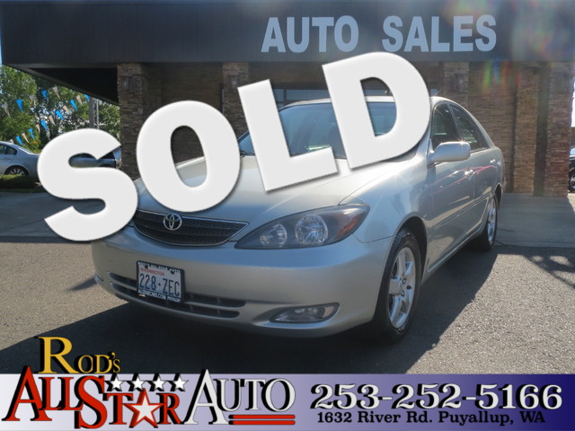 2002 Toyota Camry SE The CARFAX Buy Back Guarantee that comes with this vehicle means that you can