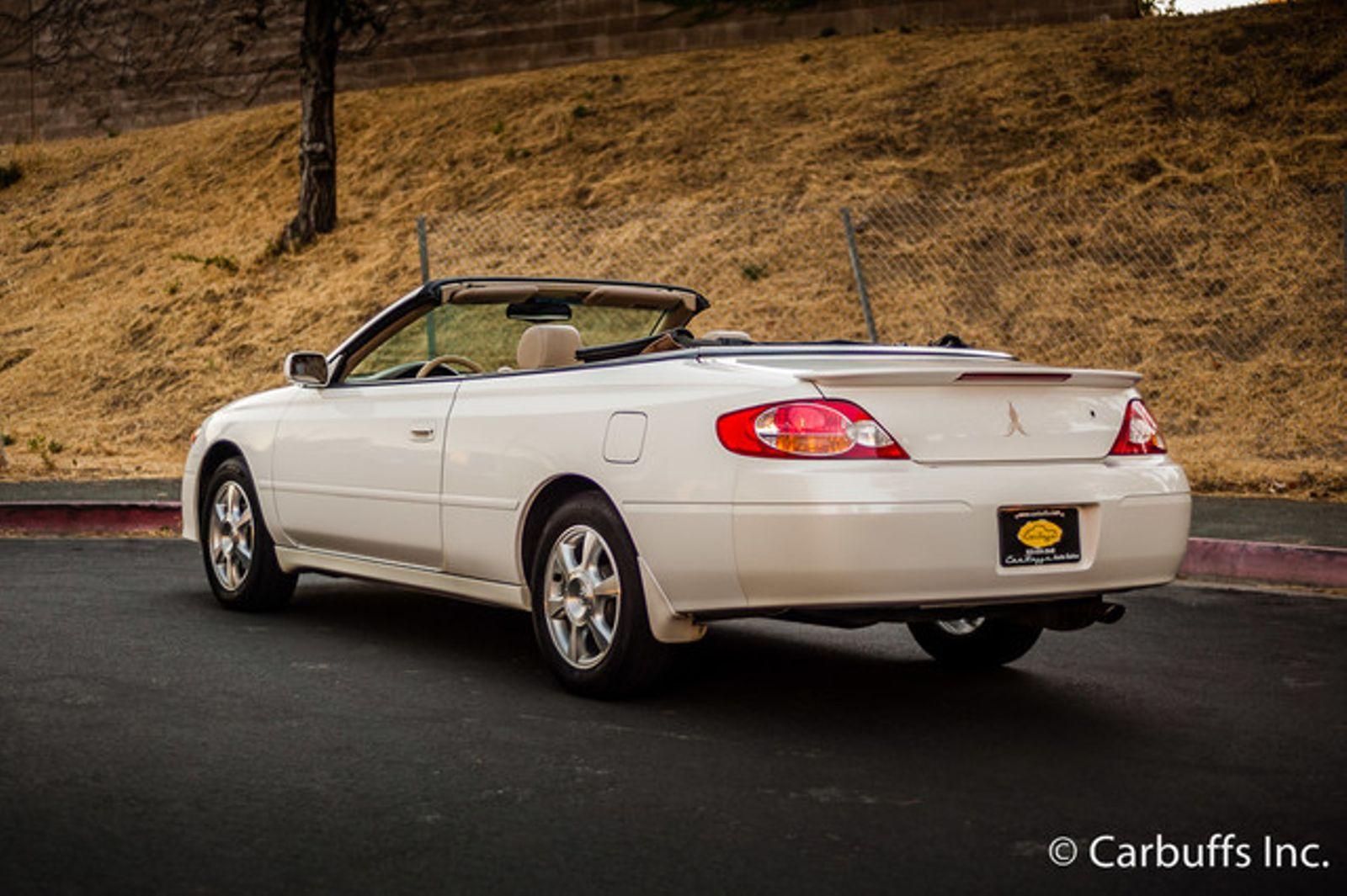 2002 Toyota Camry Solara Sle Concord Ca Carbuffs