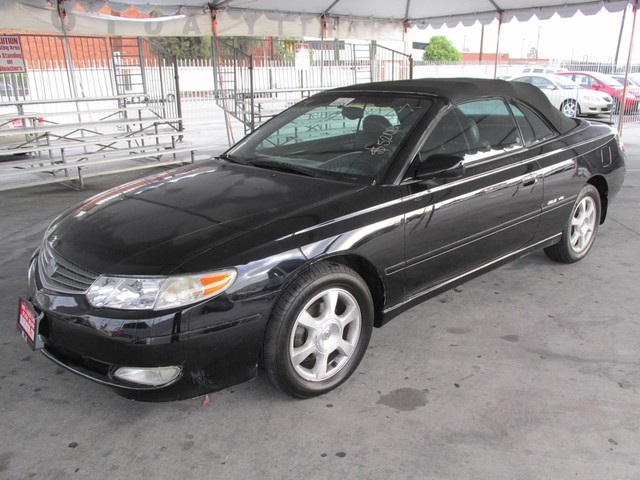 2002 Toyota Camry Solara SLE Please call or e-mail to check availability All of our vehicles ar
