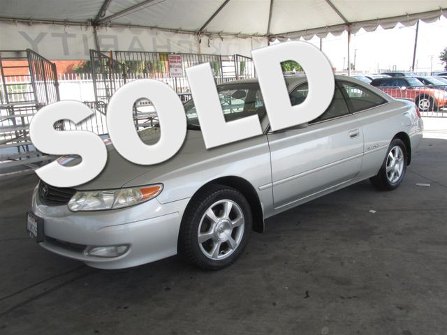 2002 Toyota Camry Solara SE This particular Vehicles true mileage is unknown TMU Please call o