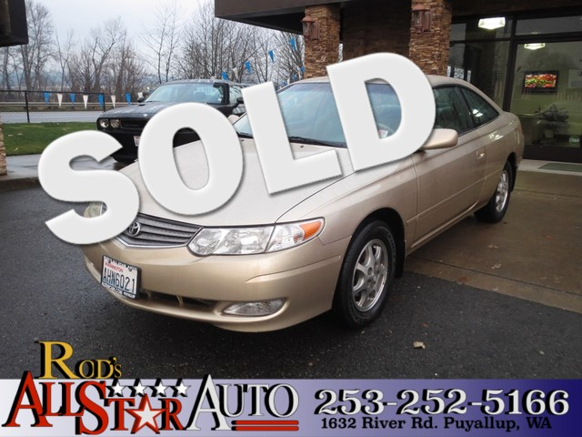 2002 Toyota Camry Solara SE The CARFAX Buy Back Guarantee that comes with this vehicle means that y