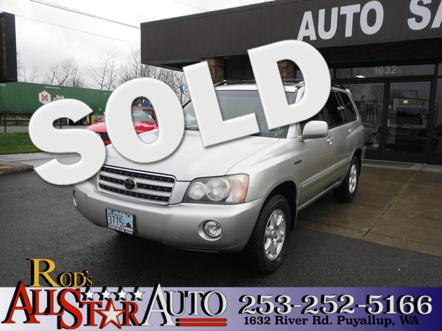 2002 Toyota Highlander Limited Toyota a name synonymous with durability Our 2002 Highlander is p