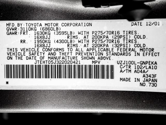 2002 Toyota Land Cruiser Burbank, CA 23