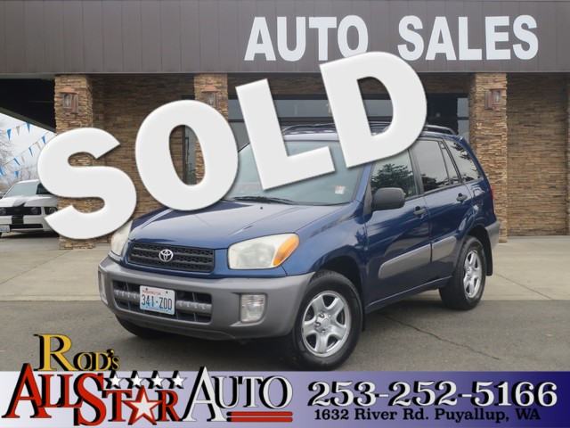 2002 Toyota RAV4 The CARFAX Buy Back Guarantee that comes with this vehicle means that you can buy