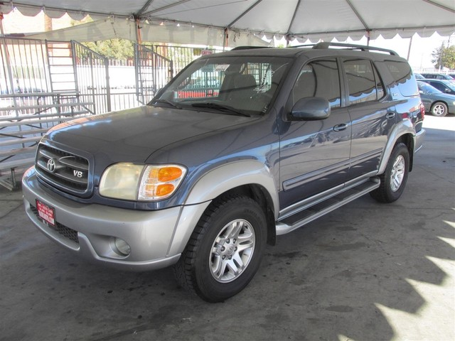 2002 Toyota Sequoia SR5 Please call or e-mail to check availability All of our vehicles are ava