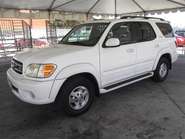 2002 Toyota Sequoia Limited Please call or e-mail to check availability All of our vehicles are