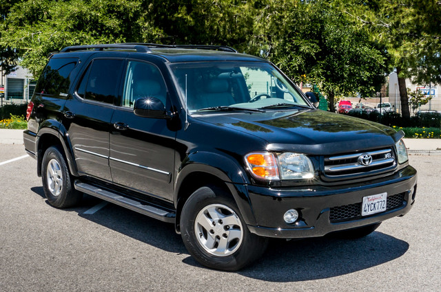 2002 Toyota Sequoia Limited - AUTO - SUNROOF - 3RD ROW - 1-OWNER Reseda, CA 41