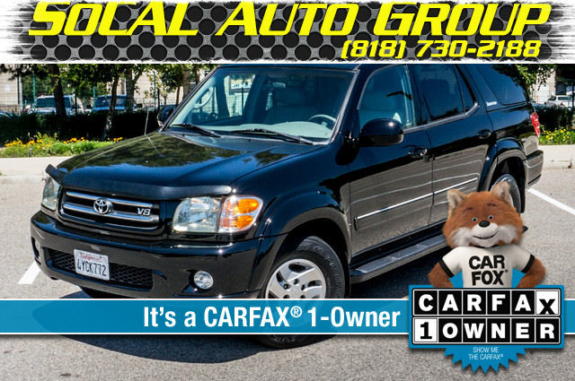 2002 Toyota Sequoia Limited - AUTO - SUNROOF - 3RD ROW - 1-OWNER Reseda, CA 0