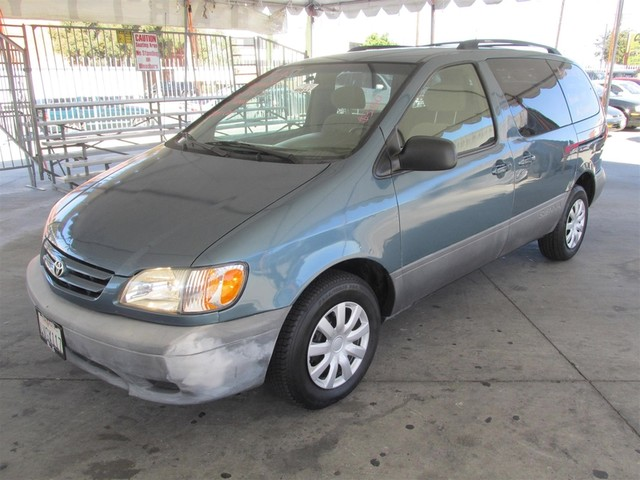 2002 Toyota Sienna CE This particular Vehicle comes with 3rd Row Seat Please call or e-mail to ch