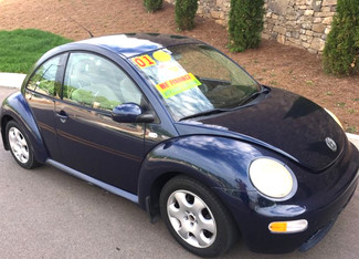2002 Volkswagen-Carmartsouth.Com New Beetle-BUY HERE PAY HERE!!! GLS-AUTOMATIC-CARFAX CLEAN!! Knoxville, Tennessee